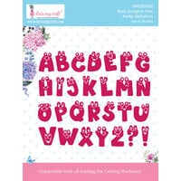 Dress My Craft - Dies - Funky Alphabets