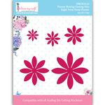Dress My Craft - Dies - Flower Making - Eight Petal Daisy Flower