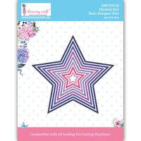 Dress My Craft - Dies - Stitched Stars - Small