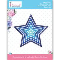 Dress My Craft - Dies - Stitched Stars - Large
