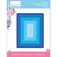 Dress My Craft - Dies - Double Stitched Rectangle