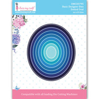 Dress My Craft - Dies - Dotted Oval