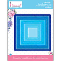 Dress My Craft - Dies - Double Stitched Square