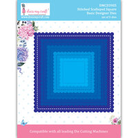 Dress My Craft - Dies - Stitched Scalloped Square