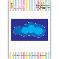 Dress My Craft - Dies - Stitched Clouds