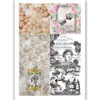 Dress My Craft - Transfer Me - Vintage Tiles Nine