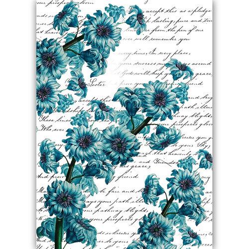 Dress My Craft - Transfer Me - Blue Beauty