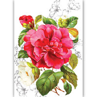 Dress My Craft - Transfer Me - Pink Blossom