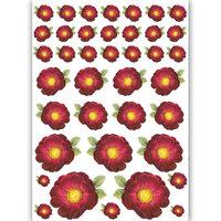 Dress My Craft - Transfer Me - Flower Pattern - One