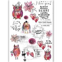 Dress My Craft - Transfer Me - I Love Owls