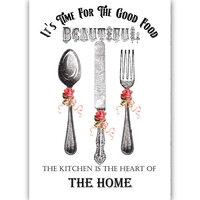 Dress My Craft - Transfer Me - Kitchen Cutlery