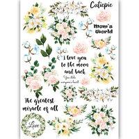 Dress My Craft - Transfer Me - Mini Moo Flowers