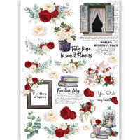 Dress My Craft - Transfer Me - Romantic Roses