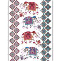 Dress My Craft - Transfer Me - Ethnic Elephants