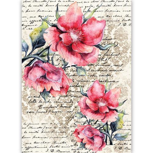 Dress My Craft - Transfer Me - Flower Mania