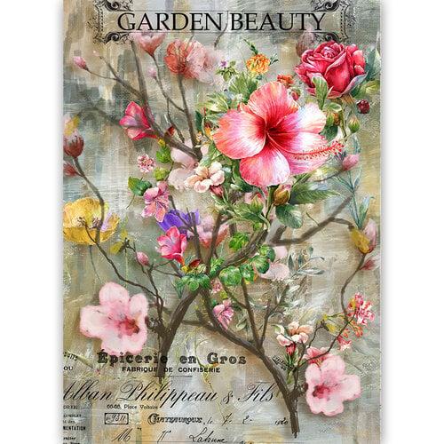 Dress My Craft - Transfer Me - Garden Beauty