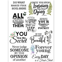Dress My Craft - Transfer Me - Quote Set One