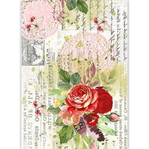 Dress My Craft - Transfer Me - Reverse Rose Doily