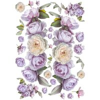 Dress My Craft - Transfer Me - Lilac Roses