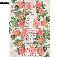 Dress My Craft - Transfer Me - Pink Daisies