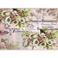 Dress My Craft - Transfer Me - Elegance Flowers