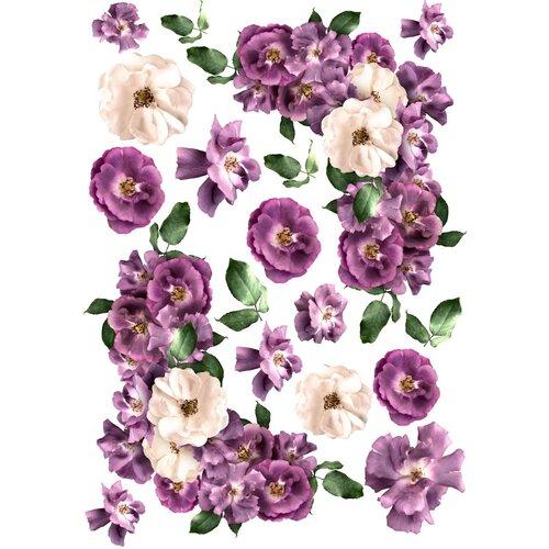 Dress My Craft - Transfer Me - Violet Roses