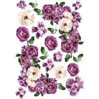 Dress My Craft - Transfer Me - Violet Roses
