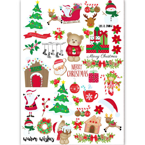 Dress My Craft - Transfer Me - Christmas Elements Set One