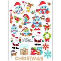 Dress My Craft - Transfer Me - Santa Birds