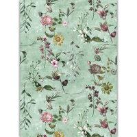 Dress My Craft - Transfer Me - Vintage Floral Set Four