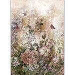 Dress My Craft - Transfer Me - Vintage Floral Set Seven