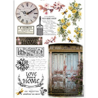 Dress My Craft - Transfer Me - Rustic Door