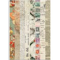 Dress My Craft - Transfer Me - World Map Washi Tapes