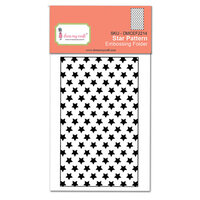 Dress My Craft - Embossing Folder - Star Pattern