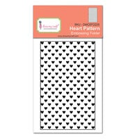 Dress My Craft - Embossing Folder - Heart Pattern