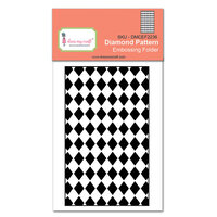 Dress My Craft - Embossing Folder - Diamond Pattern