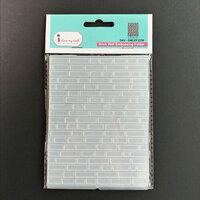 Dress My Craft - Embossing Folder - Brick Wall Pattern