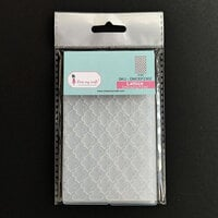 Dress My Craft - Embossing Folder - Mini - Lattice Pattern