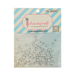 Dress My Craft - Clear Water Droplets 1 - 4mm