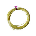 Dress My Craft - Satin Ribbon Twine - Yellow