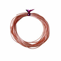 Dress My Craft - Satin Ribbon Twine - Peach