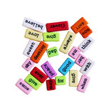 Dress My Craft - Sentiment Tiles - Colored