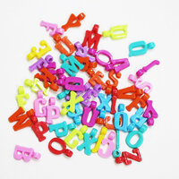 Dress My Craft - Letter Beads - Hanging Alphabet