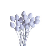 Dress My Craft - Pointed Styrofoam Buds - 12mm