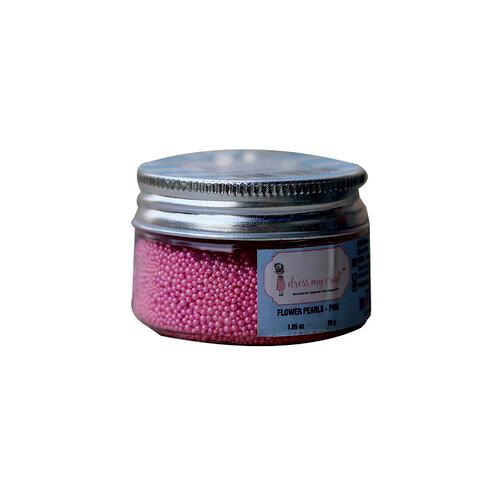 Dress My Craft - Flower Pearls - Pink