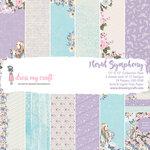 Dress My Craft - 12 x 12 Paper Pad - Floral Symphony