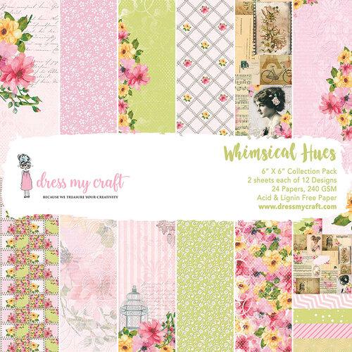 Dress My Craft - 6 x 6 Paper Pad - Whimsical Hues