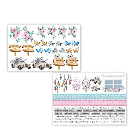 Dress My Craft - Motif Sheet - Magnolias