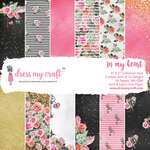 Dress My Craft - 6 x 6 Paper Pad - In My Heart