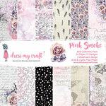 Dress My Craft - Pink Smoke Collection - 6 x 6 Paper Pad